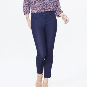 NYDJ JEANS Ami Skinny Ankle Jeans with clean slit